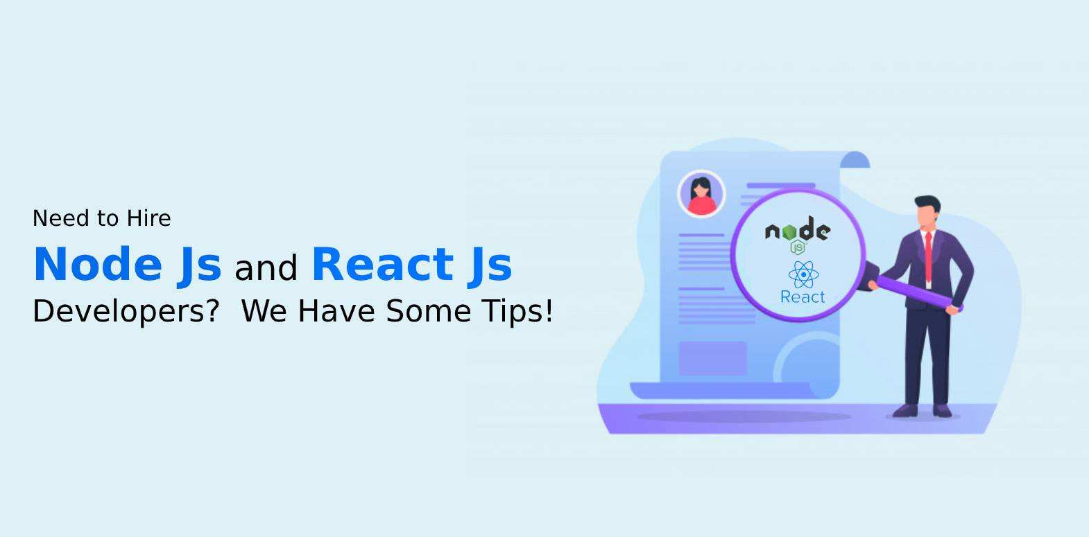 Hire Node Js and React Js Developers